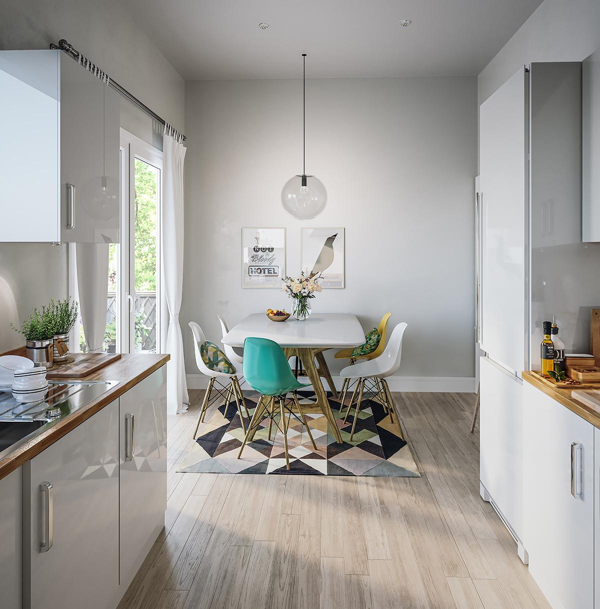 Kitchen Interior CGI