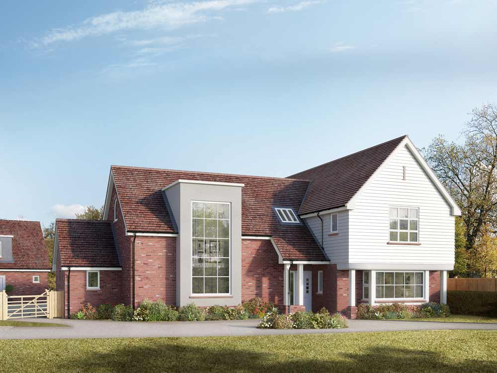 Detached House Exterior CGI