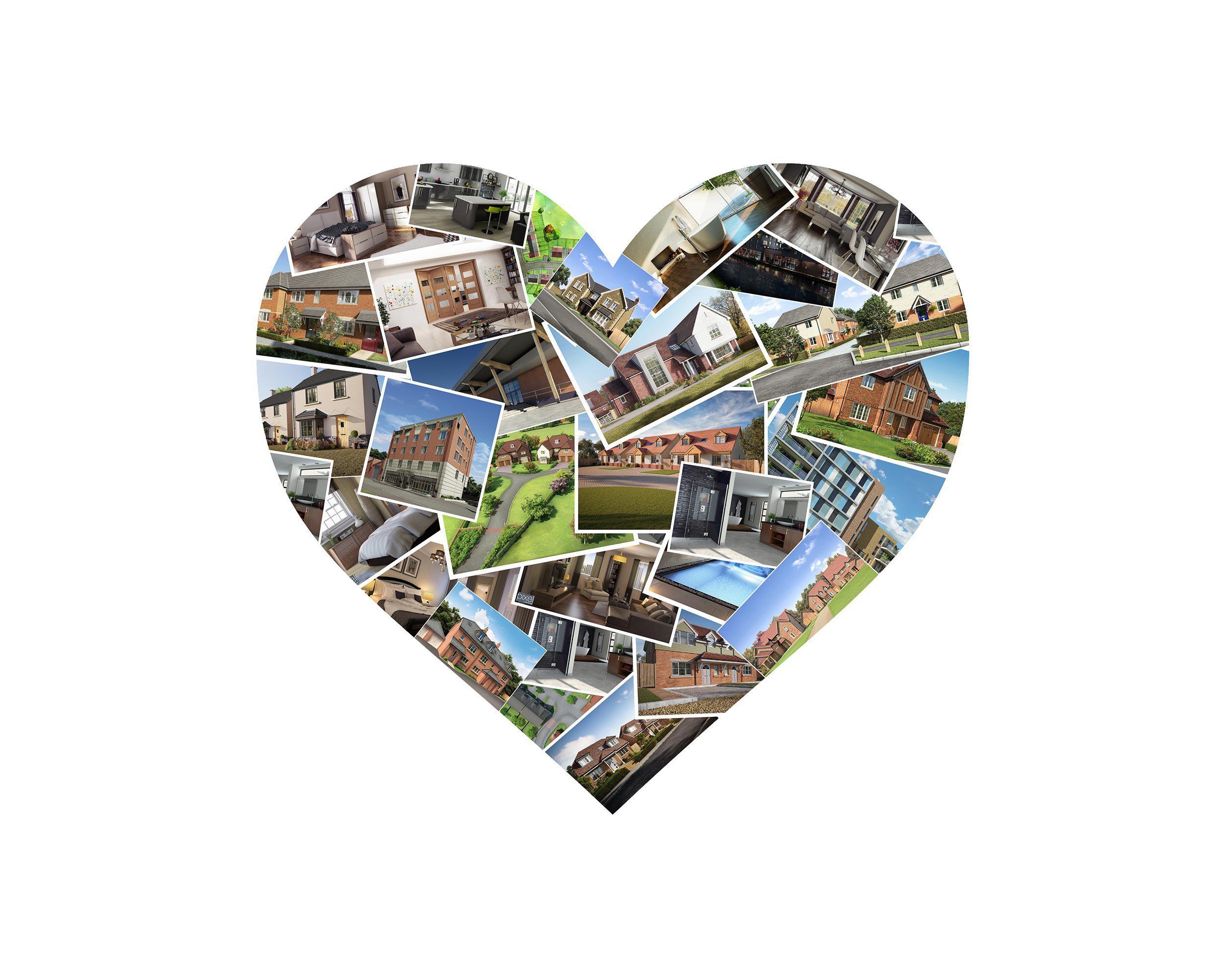 Heart Montage Image