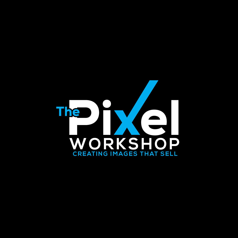 Pixel Logo on Black background