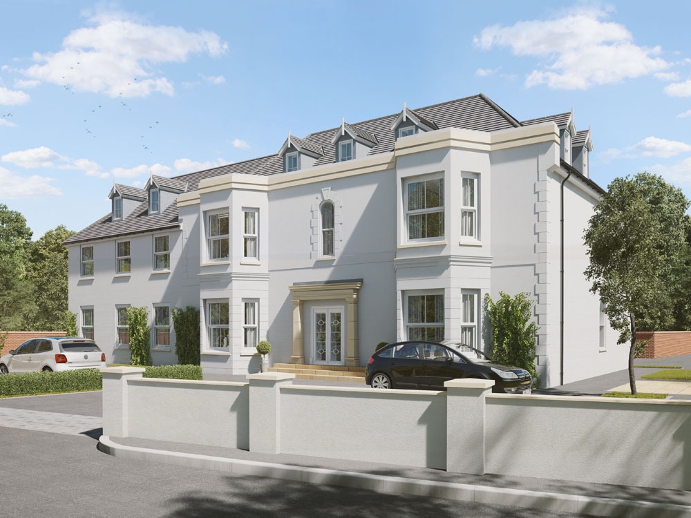 Manor House Apartments Exterior CGI