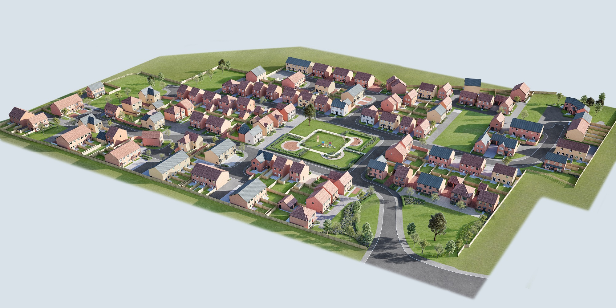 3d property visualisations - Manchester